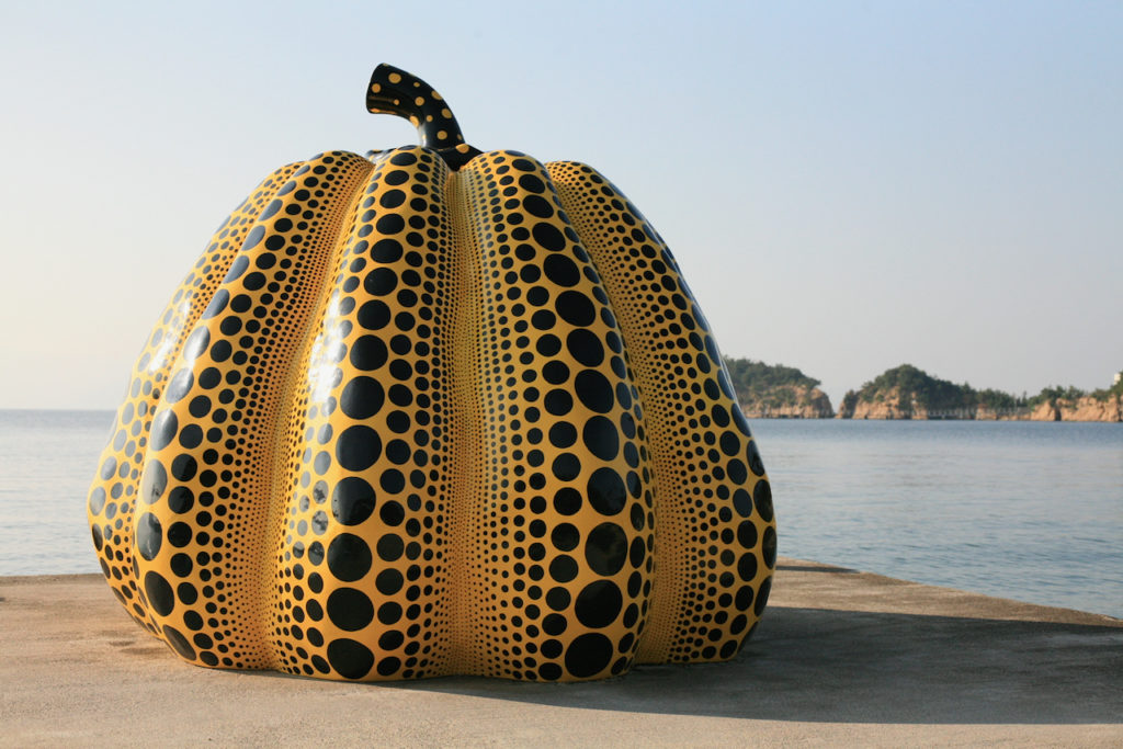 Naoshima Kusama Yellow Pumpkin